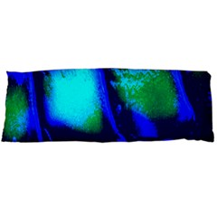 Blue Scales Pattern Background Body Pillow Case (dakimakura)