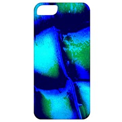Blue Scales Pattern Background Apple iPhone 5 Classic Hardshell Case