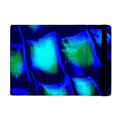 Blue Scales Pattern Background Apple Ipad Mini Flip Case