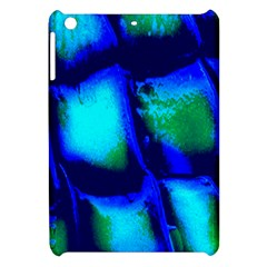Blue Scales Pattern Background Apple Ipad Mini Hardshell Case