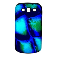 Blue Scales Pattern Background Samsung Galaxy S Iii Classic Hardshell Case (pc+silicone)