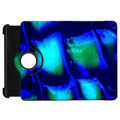 Blue Scales Pattern Background Kindle Fire HD 7