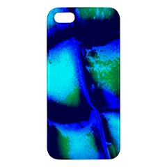 Blue Scales Pattern Background Apple Iphone 5 Premium Hardshell Case