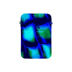 Blue Scales Pattern Background Apple iPad Mini Protective Soft Cases
