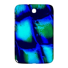Blue Scales Pattern Background Samsung Galaxy Note 8 0 N5100 Hardshell Case