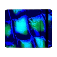 Blue Scales Pattern Background Samsung Galaxy Tab Pro 8 4  Flip Case