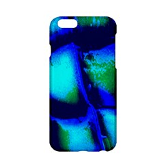 Blue Scales Pattern Background Apple Iphone 6/6s Hardshell Case
