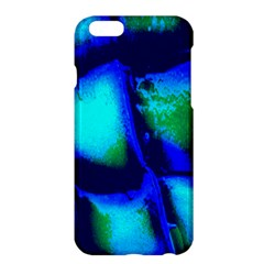 Blue Scales Pattern Background Apple Iphone 6 Plus/6s Plus Hardshell Case