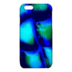 Blue Scales Pattern Background iPhone 6/6S TPU Case