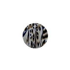 Tiger Background Fabric Animal Motifs 1  Mini Buttons