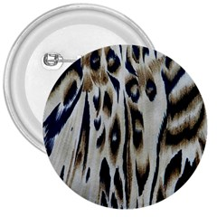 Tiger Background Fabric Animal Motifs 3  Buttons