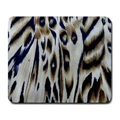 Tiger Background Fabric Animal Motifs Large Mousepads