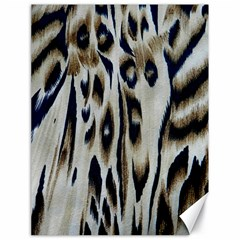 Tiger Background Fabric Animal Motifs Canvas 18  X 24