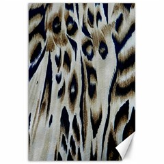 Tiger Background Fabric Animal Motifs Canvas 20  x 30