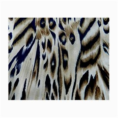 Tiger Background Fabric Animal Motifs Small Glasses Cloth (2 Side)