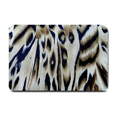 Tiger Background Fabric Animal Motifs Small Doormat