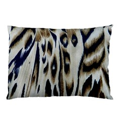Tiger Background Fabric Animal Motifs Pillow Case