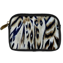 Tiger Background Fabric Animal Motifs Digital Camera Cases