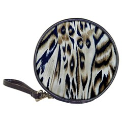 Tiger Background Fabric Animal Motifs Classic 20-CD Wallets
