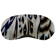 Tiger Background Fabric Animal Motifs Sleeping Masks