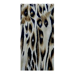 Tiger Background Fabric Animal Motifs Shower Curtain 36  X 72  (stall)