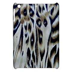 Tiger Background Fabric Animal Motifs Apple iPad Mini Hardshell Case