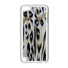 Tiger Background Fabric Animal Motifs Apple Ipod Touch 5 Case (white)