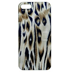 Tiger Background Fabric Animal Motifs Apple iPhone 5 Hardshell Case with Stand