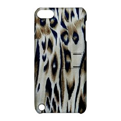 Tiger Background Fabric Animal Motifs Apple iPod Touch 5 Hardshell Case with Stand