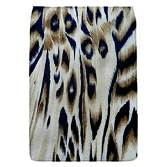 Tiger Background Fabric Animal Motifs Flap Covers (S)