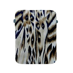 Tiger Background Fabric Animal Motifs Apple Ipad 2/3/4 Protective Soft Cases