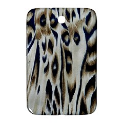 Tiger Background Fabric Animal Motifs Samsung Galaxy Note 8 0 N5100 Hardshell Case