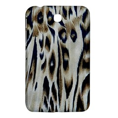 Tiger Background Fabric Animal Motifs Samsung Galaxy Tab 3 (7 ) P3200 Hardshell Case