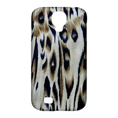 Tiger Background Fabric Animal Motifs Samsung Galaxy S4 Classic Hardshell Case (PC+Silicone)