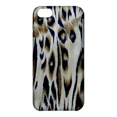 Tiger Background Fabric Animal Motifs Apple Iphone 5c Hardshell Case