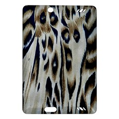 Tiger Background Fabric Animal Motifs Amazon Kindle Fire Hd (2013) Hardshell Case