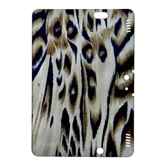 Tiger Background Fabric Animal Motifs Kindle Fire HDX 8.9  Hardshell Case