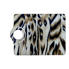 Tiger Background Fabric Animal Motifs Kindle Fire Hd (2013) Flip 360 Case
