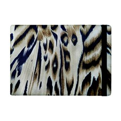 Tiger Background Fabric Animal Motifs iPad Mini 2 Flip Cases