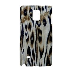 Tiger Background Fabric Animal Motifs Samsung Galaxy Note 4 Hardshell Case