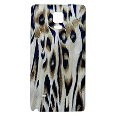 Tiger Background Fabric Animal Motifs Galaxy Note 4 Back Case