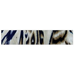Tiger Background Fabric Animal Motifs Flano Scarf (small)