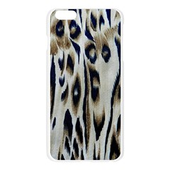 Tiger Background Fabric Animal Motifs Apple Seamless iPhone 6 Plus/6S Plus Case (Transparent)