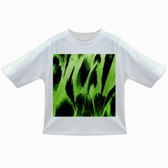 Green Tiger Background Fabric Animal Motifs Infant/toddler T Shirts