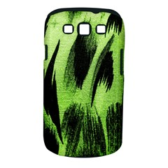 Green Tiger Background Fabric Animal Motifs Samsung Galaxy S Iii Classic Hardshell Case (pc+silicone)