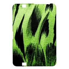 Green Tiger Background Fabric Animal Motifs Kindle Fire Hd 8 9