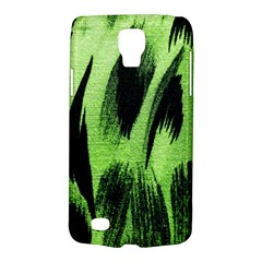 Green Tiger Background Fabric Animal Motifs Galaxy S4 Active