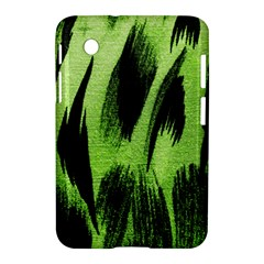 Green Tiger Background Fabric Animal Motifs Samsung Galaxy Tab 2 (7 ) P3100 Hardshell Case
