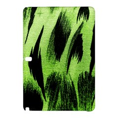Green Tiger Background Fabric Animal Motifs Samsung Galaxy Tab Pro 12 2 Hardshell Case