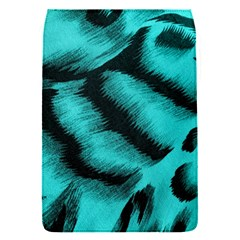 Blue Background Fabric Tiger  Animal Motifs Flap Covers (s)